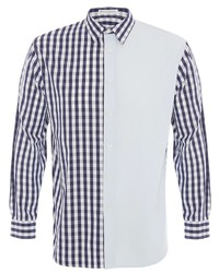 JW Anderson Patchworked Gingham Shirt