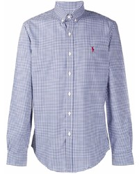 Ralph Lauren Polo Pony Embroidered Checked Shirt
