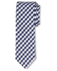 Navy gingham tie tm medium 348954