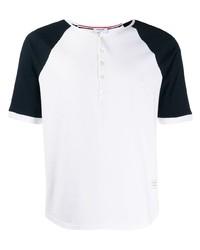 Thom Browne Contrasting Sleeves T Shirt