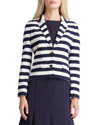 Tory Burch Augusta Striped Knit Blazer