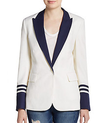 Two tone peaked lapel blazer medium 205760