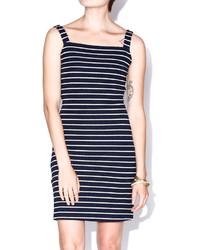 Babel Fair Navy White Stripe Dress
