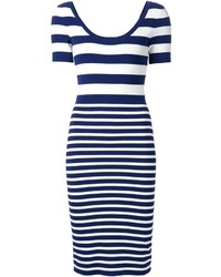 Michael Kors Michl Kors Striped Dress