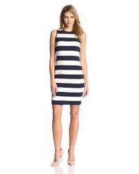 Sleeveless yacht stripe dress medium 119086