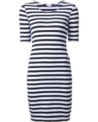 Splendid Striped Fitted Dress