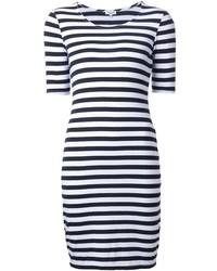 Splendid Striped Fitted Dress