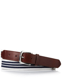 21 classic striped belt medium 21501