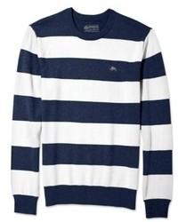 American Rag Sweater Striped Crew Neck Sweater