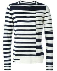 Maison Margiela Asymmetric Stripe Sweater