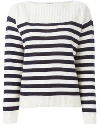 Breton stripe sweater medium 326544