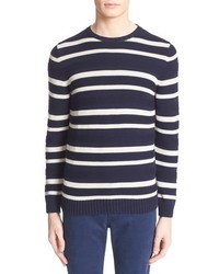 Egyptian cotton stripe pullover medium 683414