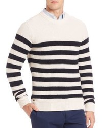 Lacoste Fancy Rib Striped Sweater