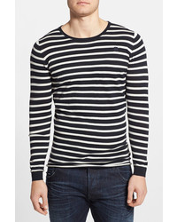 G Star G Star Raw Meeflic Stripe Crewneck Sweater