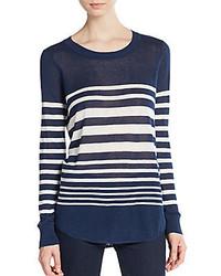 Highland striped long sleeve tee medium 326534