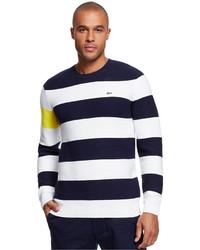 Lacoste Color Block Stripe Sweater