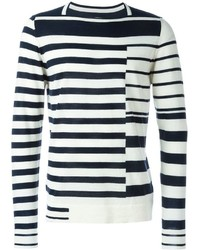 Maison Margiela Asymmetric Stripe Sweater