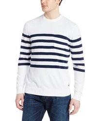 Nautica Stripe Crew Sweater