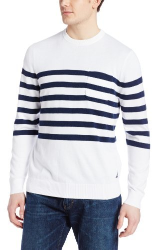 Nautica Stripe Crew Sweater