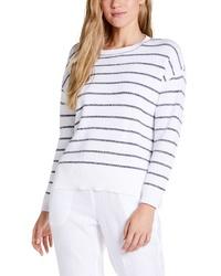 Michael Stars Rylen Stripe Pullover Sweater