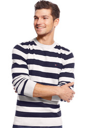 Tommy Hilfiger Signature Striped Crew Neck Sweater