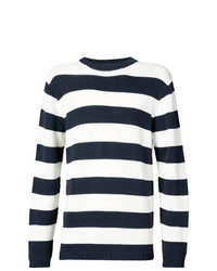 Junya Watanabe MAN Striped Fitted Sweater