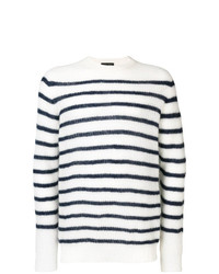 Roberto Collina Striped Knit Jumper