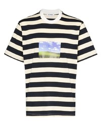 Sunnei Bliss Striped T Shirt