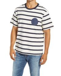 Nn07 Dylan Stripe T Shirt
