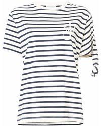 Jw anderson oversized stripe t shirt medium 6986564