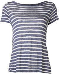 Majestic filatures striped t shirt medium 154557