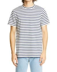A.P.C. Michl Stripe T Shirt