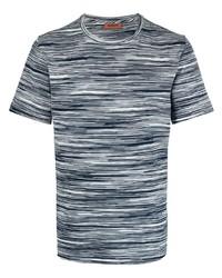 Missoni Optic Print Cotton T Shirt