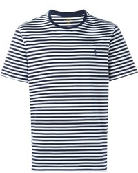 8709bf43e0d8e Men s White and Navy Crew-neck T-shirts by Polo Ralph Lauren