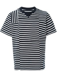 Sacai striped t shirt medium 442444