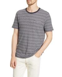 Billy Reid Stripe Pocket T Shirt