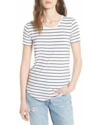 Majestic Filatures Stripe Short Sleeve Tee