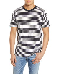 Scotch & Soda Stripe Slim Fit T Shirt