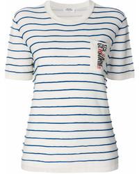 Sonia Rykiel Striped Pocket T Shirt