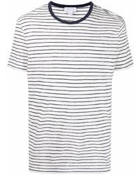 Sunspel Striped Short Sleeve T Shirt