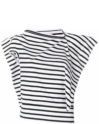 Junya Watanabe Striped Stand Up T Shirt
