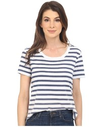 Splendid Sunfaded Stripe Jersey Tee