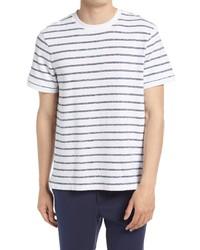 Club Monaco Textural Stripe T Shirt