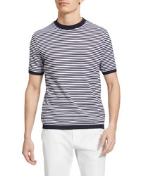 Theory Veran Stripe T Shirt