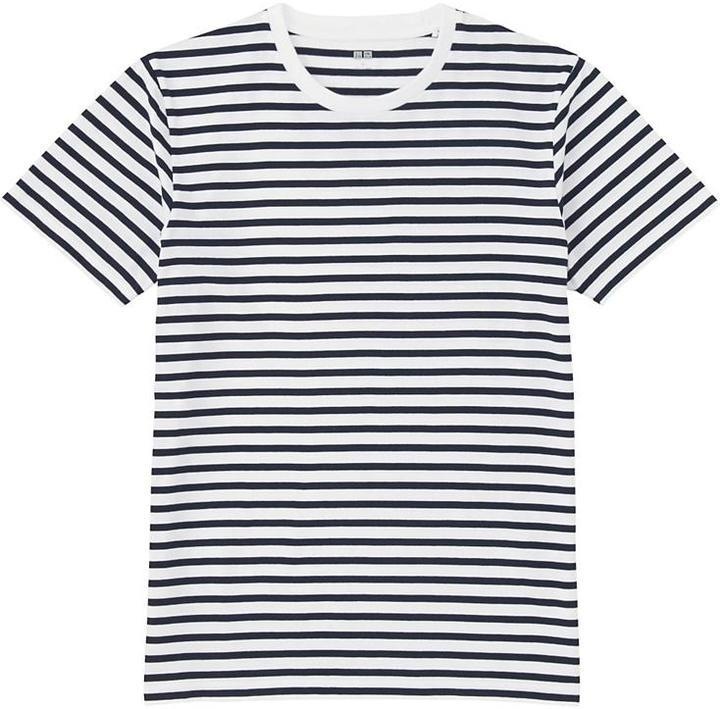f81902584d Uniqlo Washed Striped T Shirt, $14 | Uniqlo | Lookastic.com