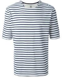 Wood Wood Striped T Shirt