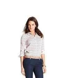Tommy hilfiger horizontal stripe shirt medium 90137
