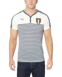 Puma Figc Italia Henley T Shirt