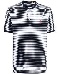 Polo Ralph Lauren Henley Striped T Shirt