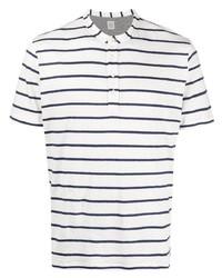 Eleventy Striped Linen T Shirt